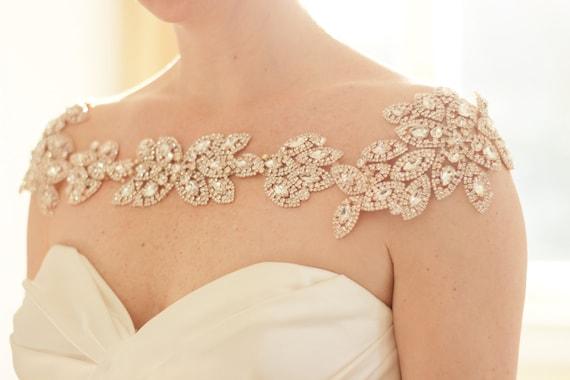 Bridal Bolero Bridal Shoulder Necklace Shoulder Jewelry