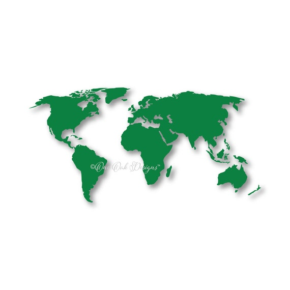 World map svg vector dxf png design file for cricut gumiabroncs Image collections
