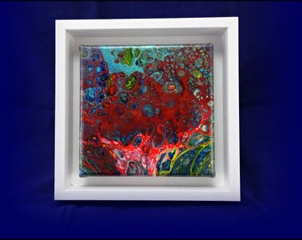 Original Abstract Acrylic Painting - 'Last Look At Eden'