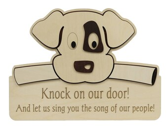 Wooden Dog sign, sing you the song of my people.