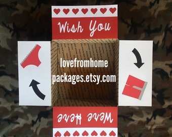 Wish you were here underwear Care Package Flaps