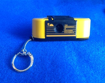 The Broadway Department Store Promotional 110 Micro Camera Keychain