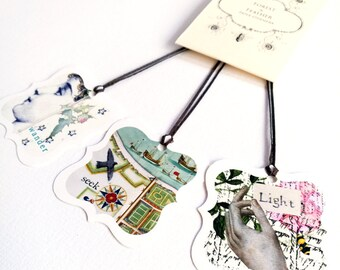 The Seeker - Gift tag set of 15