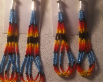 Mother and daughter earrings.