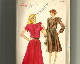 Butterick Misses' Dress Pattern 4044