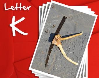 Alphabet Photography Letter K Choices, Alphabet Photography 6x4, 7x5 or 8x6 Prints