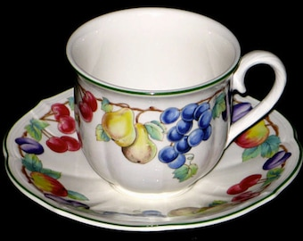 Villeroy & Boch Melina Four Cups and Saucers
