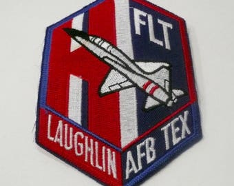 Laughlin, Texas Air Force Base Sew On Patch