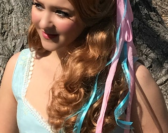 Couture Enchanted Giselle Curtain Curl Updo Wig
