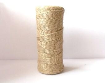 100 meters Jute cord,Natural Jute,jute rope,natural jute twine,jute twine,high quality jute twine,country style rope,rustic style rope