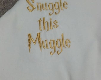 Harry Potter Inspired Baby Gift Set -Bib, Burp Cloth, and Blanket