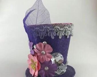 Purple Spring-Tiny Top Hat