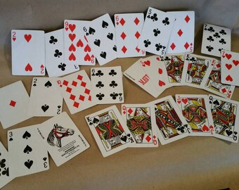 Playing Card Party Decoration
