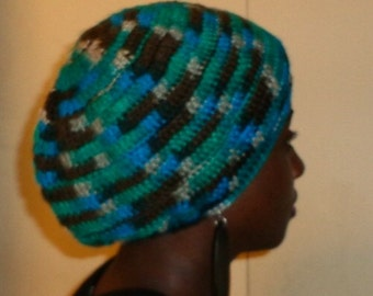 Down to Earth, Crochet Beret Cap