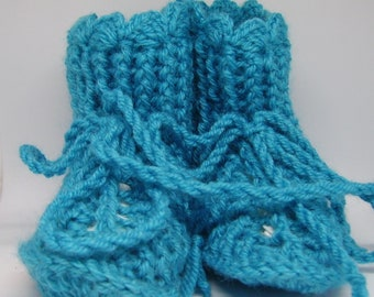 Light blue Baby Shoes