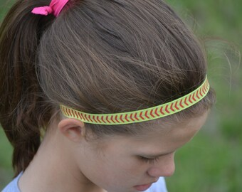 Custom Softball Gifts - Girls Softball Team Gift - Softball Headband 3 Pack - Team Colors - Softball Mom - Team Gifts - Softball Coach