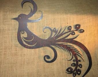 Peacock-Metal Art