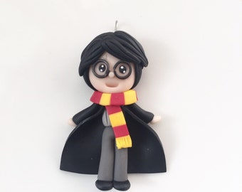 Harry Potter Polymer Clay Necklace