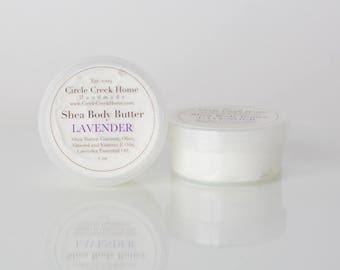 Lavender Shea Body Butter - Handmade by Circle Creek Home