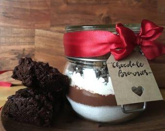 Chocolate Brownie Jar - 500ml