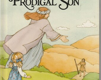 The Story of the Prodigal Son, An Alice in Bibleland Storybook - Vintage Childrens Book - Christian Literature
