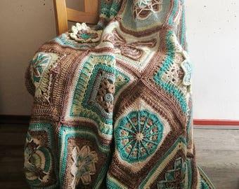 Crochet Afghan Handmade Blanket