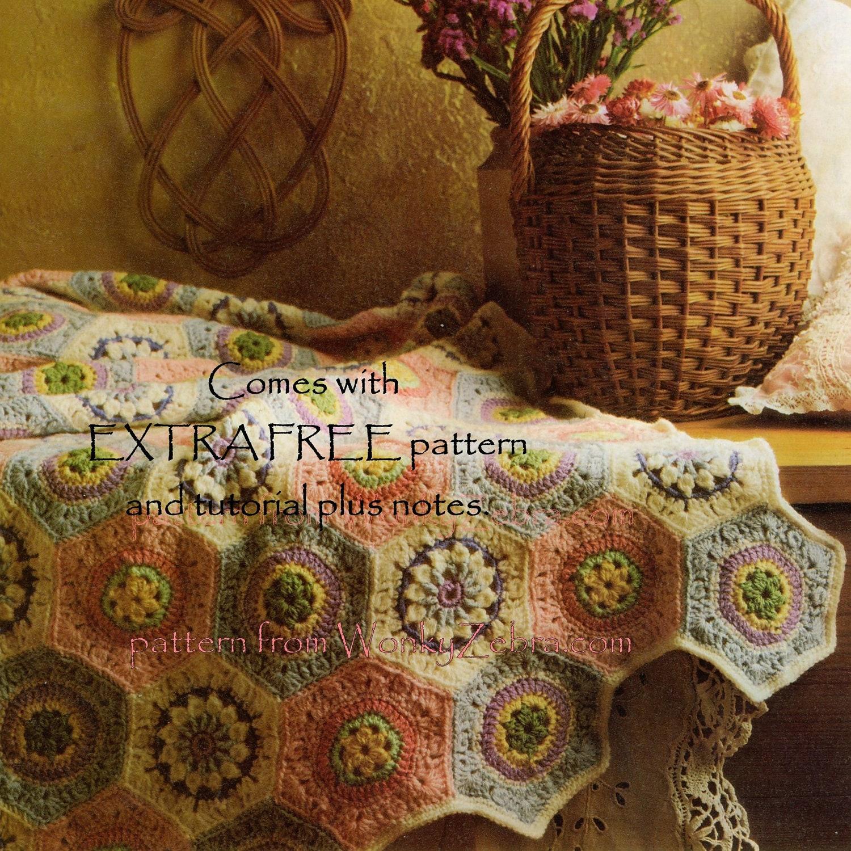 Vintage Crochet Muster 224 PDF afghanische Muster aus