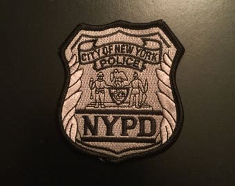 NY State city of NY Police Embroidered Patch (purchasing 1 Patch only), others shown (if available), are for purchase)