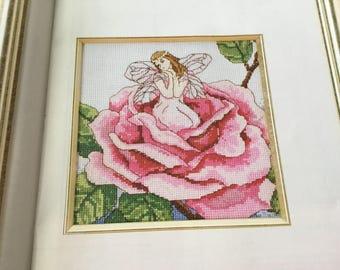 ROSE FAIRY - Cross Stitch Pattern Only
