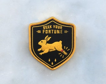 Seek Your Fortune Embroidered Patch