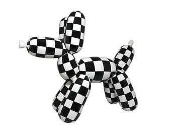 """Statue de chien """"Ballon"""" en résine, hauteur 27 centimètres, pour collection ou décoration"""