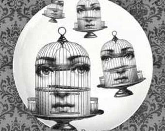 Bird cage Cavalieri plate