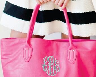 Monogrammed Purse - Hot Pink
