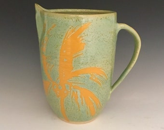 Stoneware Pitcher; Functional Ceramic Arts