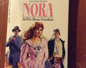 Nora, Sunfire Romance, No. 26 by Jeffie Ross Gordon (1987)
