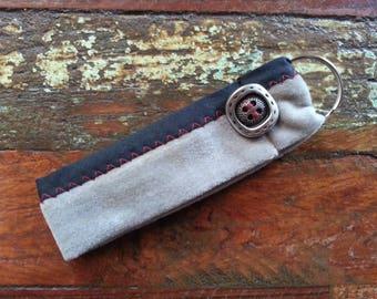 Key strap gray and black
