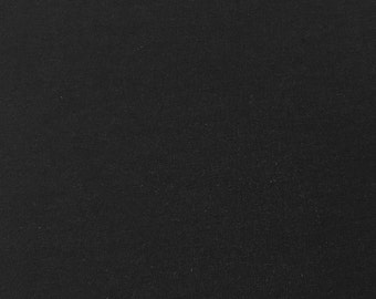 Lightweight Jersey Fabric (Wholesale Price Available By The Bolt) USA Made Premium Quality - 5626 Black - 1 Yard