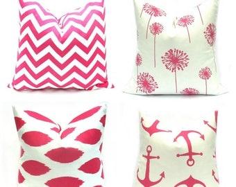 15% Off Sale Pink Pillow Case  Pink Pillow  Hot pink Pillow , Decorative Pillow  Accent pillow , Throw Pillow   Pink Pillow Covers  Home Dec