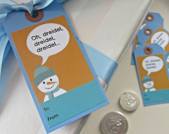 Snowman Gift Tags (Pack of Ten)