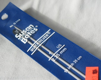 """Knitting Needles Size 1 US/2.25mm 10"""", or 14"""""""