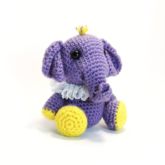 Muster: Häkeln kleine Elefant PDF-DateiAmigurumi Tier