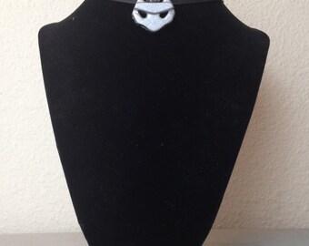 Arkham City Catwoman charm necklace