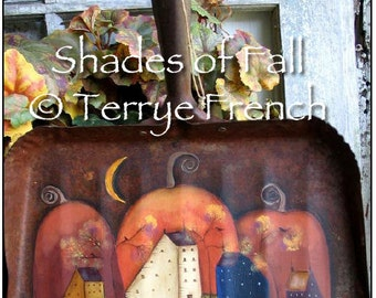 Shades of Fall - by Terrye French, E-Pattern