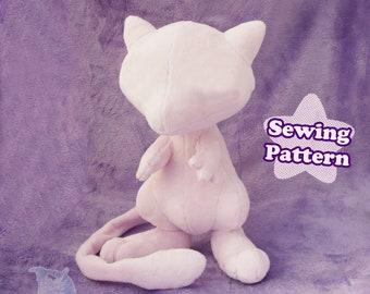 Plushie Sewing Pattern Alien Fairy | Digital Plush Sewing Pattern Stuffed Toy PDF