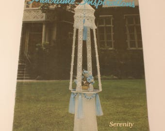 Macrame Inspirations Book 2 Wall Hanging, Plant Hanger, 1981 Easy Macrame Knotting Directions GS16