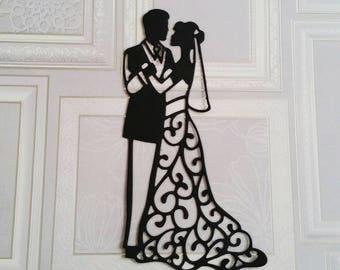 Wedding Couple Die Cut
