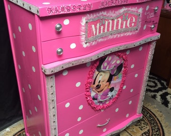 Attrayant Minnie Mouse   Minnie Mouse Decor   Kids Room Decor   Kids Furniture   Minnie  Mouse Birthday   Childrens Furniture   Girls Room Decor   Kids