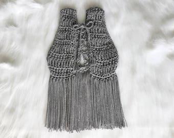 CHILD — Grey Lorelei Vest