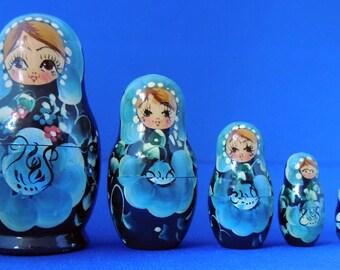 Ukrainian nesting dolls - 5