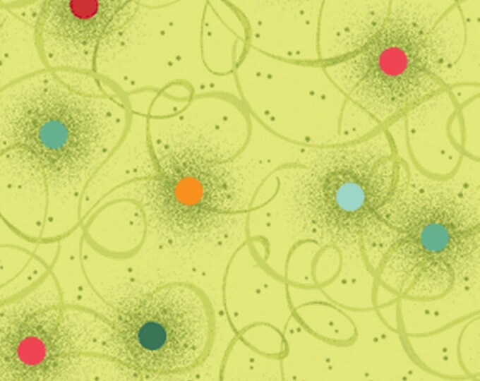 SALE!! Nancy's Holiday Favorites - Twinkle Lights in Mint Green - Cotton Quilt Fabric - Nancy Halvorsen - Benartex Fabrics 2362-40 (w341)